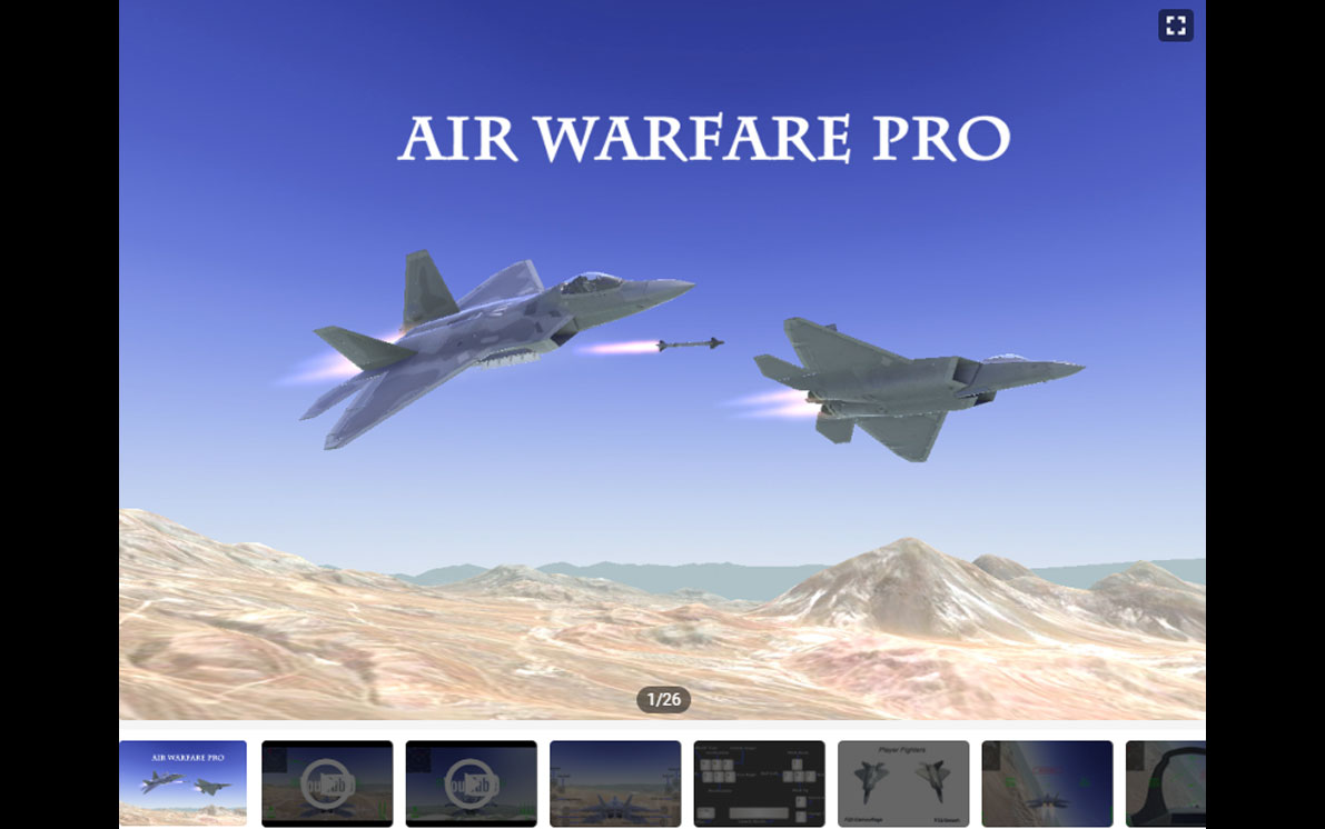Air Warfare Pro Unity Asset is on Unity Asset Store for Sell